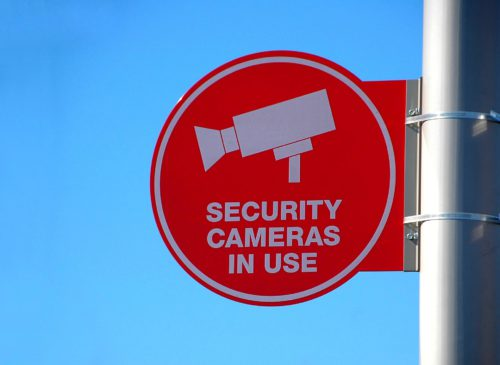 Security Cameras In Use