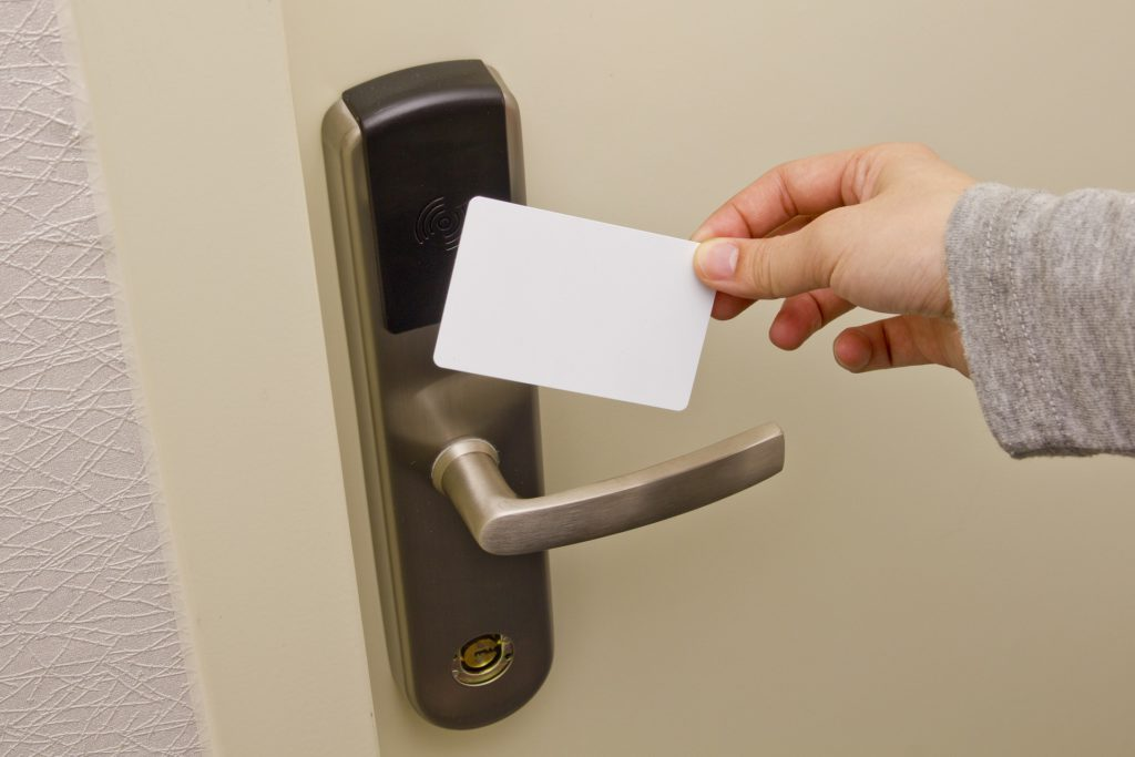 Access control card