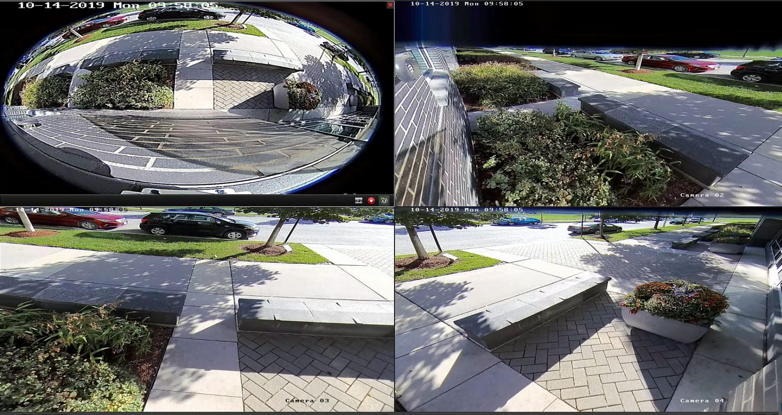 Can A Security Company Provide Public Footage?